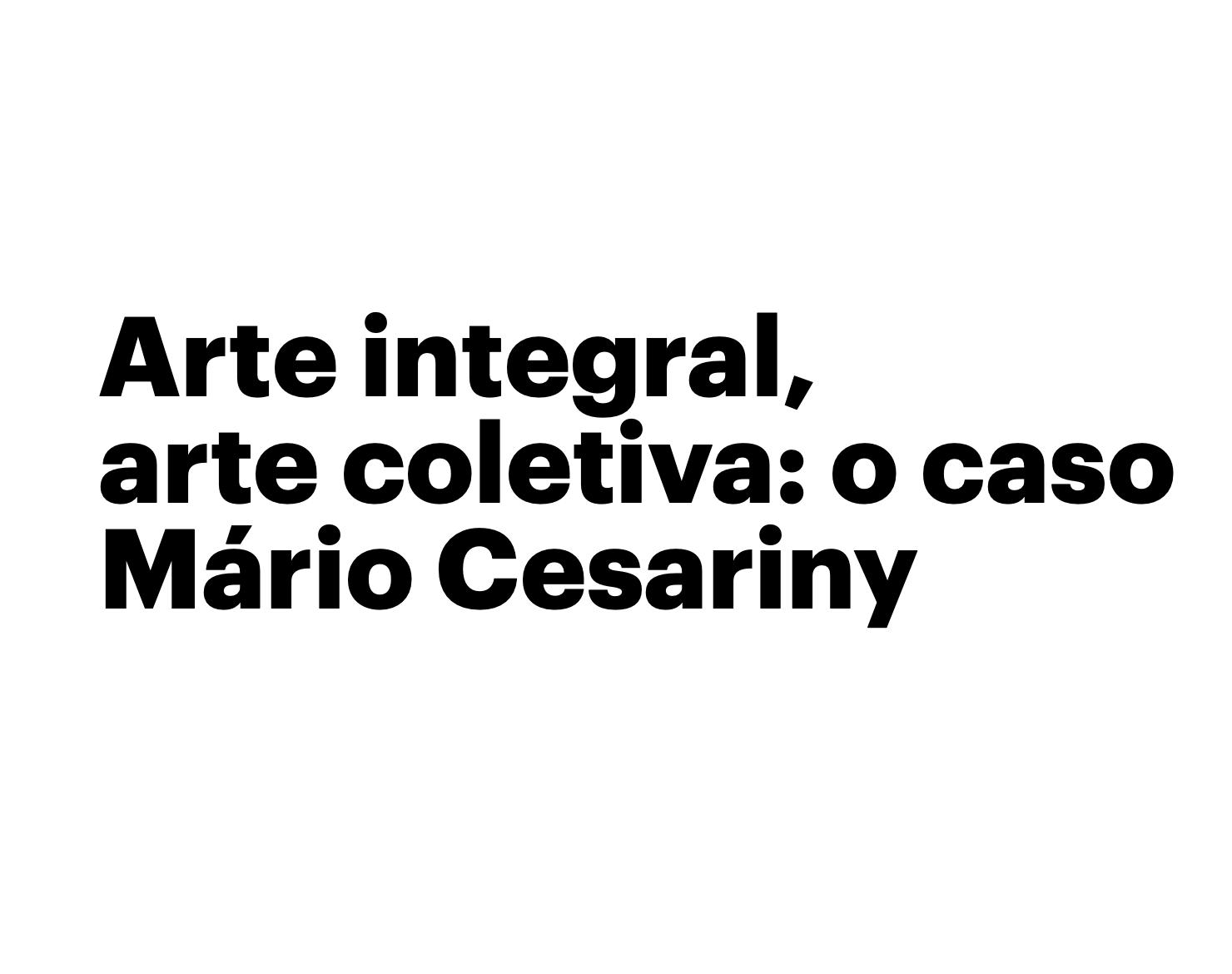 Arte integral — Danilo Bueno